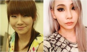 Hành trình thay đổi nhan sắc sau 7 năm của 2NE1