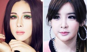 Chuyên gia trang điểm Việt giống Park Bom 2NE1 như chị em