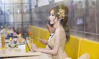 elly-tran-lan-dau-tai-xuat-catwalk-khoe-eo-nho-nhat-showbiz-9