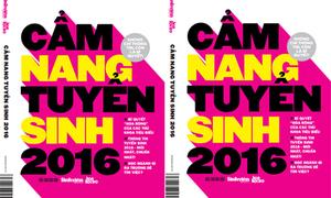 Tặng độc giả 10 cuốn 'Cẩm nang tuyển sinh 2016'