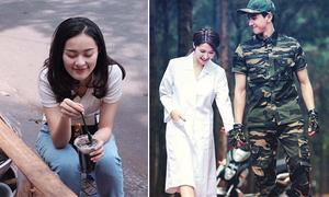 Sao Việt 11/4: Hạ Vi ăn hàng lề đường, Vân Navy làm Song Hye Kyo bản Việt