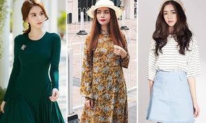 Street style sao Việt tuần qua: Váy dài quá gối, đồ denim lên ngôi