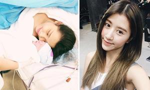 Sao Việt 12/4: Gào hạnh phúc bên bé mới sinh, Quỳnh Anh Shyn làm tóc già dặn