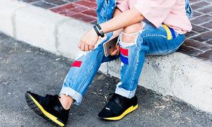 Bí kíp diện giày thể thao chất lừ cho mùa hè