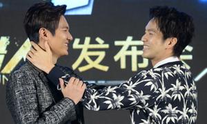 Lee Min Ho lộ cằm 2 ngấn, kém sắc bên Chung Hán Lương