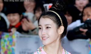 Các kiểu tóc búi ngọt ngào như sao Hàn