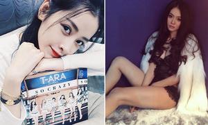Sao Việt 15/4: Chi Pu được T-ara tặng quà, Linh Chi sexy hơn cả Katun