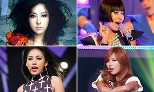 4 thế hệ nữ hoàng gợi cảm của Kpop