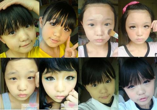 Tiểu Qua năm nay 18 tuổi, cô bé đã nổi tiếng trên mạng từ năm 12 tuổi vì kỹ năng trang điểm thuần thục, điêu luyện. Cô bé có thể makeup biến hoá nhiều phong cách khác nhau rất chuyên nghiệp.