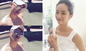 Sao Hàn 18/4: Hyeri lộ vòng 1 khiêm tốn, Seung Ri khoe thân trần tắm nắng