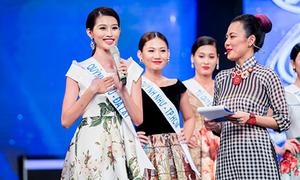 Quỳnh Châu đáp khôn khi bị hỏi khó ở 'Hoa khôi Áo dài'