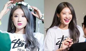 9 idol Hàn mất hẳn vẻ lạnh lùng sang chảnh khi cười