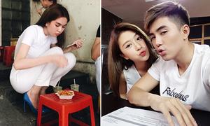 Sao Việt 21/4: Ngọc Trinh ngồi xổm ăn hàng, Quỳnh Anh Shyn - Will 'hôn môi xa'