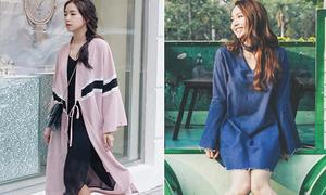 Sao style 22/4: Sa Lim chất như con gái Nhật, Minh Hằng diện váy cổ choker