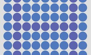 Bạn có phân biệt được màu tím và màu xanh?