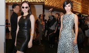 Dàn sao Việt khoe dáng, đọ style trên thảm đỏ tuần lễ thời trang