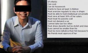 Giám đốc trẻ gây bàn tán khi đăng 13 tiêu chuẩn tuyển vợ