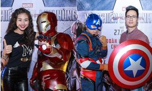 Dàn sao Việt cao to hơn cả siêu anh hùng
