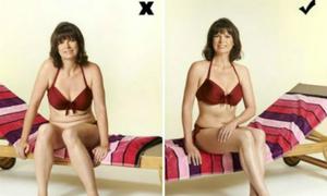 7 mẹo tạo dáng che nhược điểm cơ thể khi mặc bikini