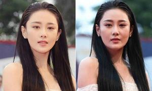 Người đẹp Hoa ngữ bị 'bóc mẽ' nhan sắc khi không photoshop