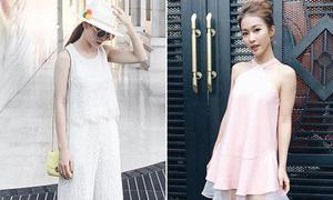 Sao style 6/5: Yến Trang diện cây trắng mát rượi, Khả Ngân điệu đà công chúa