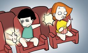 Những hành động xấu xí thường gặp trong rạp phim
