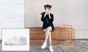 Giày cưng mix trăm kiểu không chán của các hot girl Việt