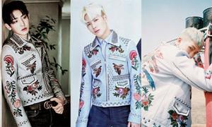 Chiếc áo khoác được lòng cả 3 sao nam Hàn