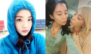 Sao Hàn 12/5: Tae Yeon chu môi hôn Seo Hyun, Dara trẻ đẹp không tuổi