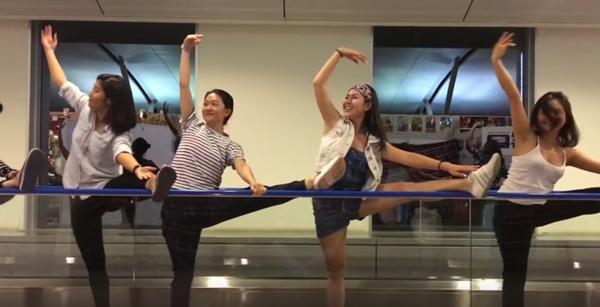 Học múa để nâng cao thể lực, sức dẻo dai.
