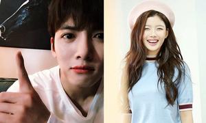 Sao Hàn 14/5: Ji Chang Wook 'mặt hoa da phấn', Kim Yoo Jung cười tít mắt