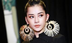 Chi Pu đeo hoa tai 'hậu duệ Mặt Trời' to hơn mặt
