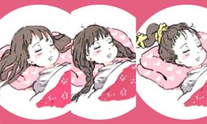 Cách để tóc khi ngủ nói gì về bạn