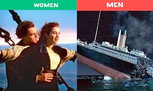 10 điều khác nhau giữa đàn ông và phụ nữ