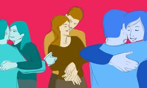 Cách bạn ôm ai đó sẽ tiết lộ gì về mối quan hệ của bạn