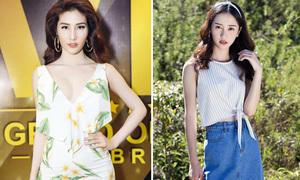 Sao style 21/5: Jun Vũ xinh như Angelababy, Diễm My hở trên xẻ dưới
