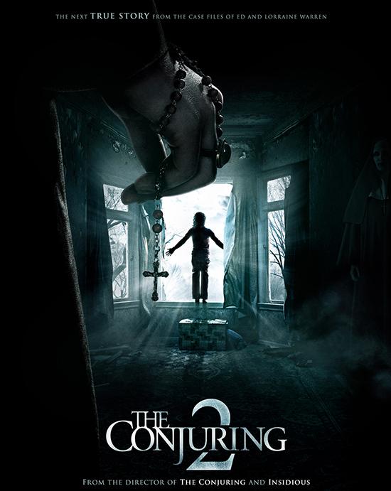 The Conjuring 2 tiếp tục theo chân 2 điều tra viênLorraine và Ed Warren