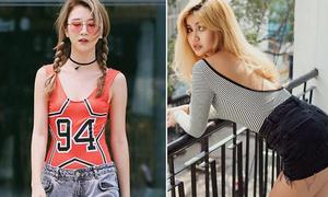 Quỳnh Anh Shyn và dàn hot girl lăng xê mốt mặc đồ bơi ra phố