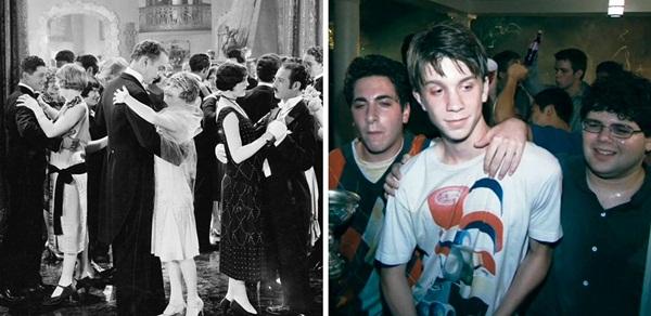 Sự khác biệt rõ rệt khi nói đến những buổi party xưa - nay.