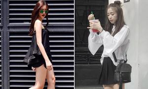 Sao style 27/5: Hà Lade, Sa Lim diện đen - trắng vẫn nổi bật