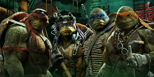 4 anh em ninja rùaMichelangelo, Donatello, Leonardo và Raphael