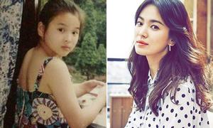 Hành trình nhan sắc từ nhỏ đến lớn của Song Hye Kyo