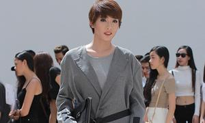 Kim Nhã diện áo ấm sực 'một mất một còn' náo loạn Next Top