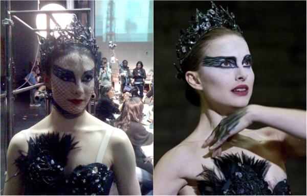 Để có những phân đoạn múa ballet hoàn hảo trong Black Swan, đoàn làm phim đã phải nhờ đến một vũ công chuyên nghiệp đóng thế cho Natalie Portman.Sarah Lane,