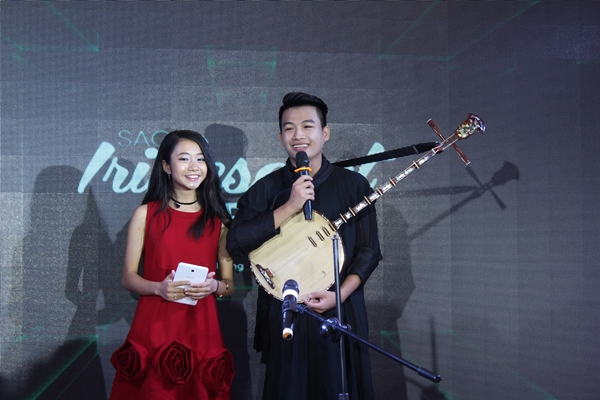 Khách mời Trung Lương - á quân Viet Nams Got Talent 2016.