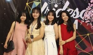 Girl xinh chuyên Nguyễn Huệ đọ dáng trong prom cuối năm