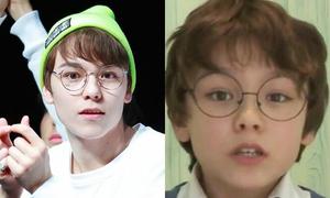 12 sao nam Kpop xinh trai từ thuở mẫu giáo