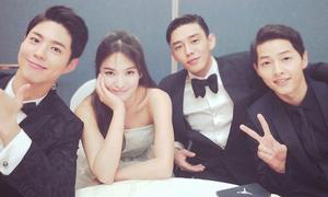 Sao Hàn 5/6: Song Hye Kyo được 3 trai đẹp vây quanh, Dasom chân thon nuột