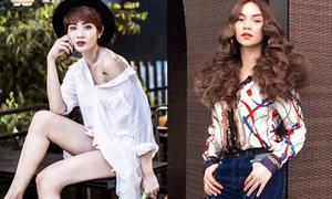 Sao style 7/6: Kim Nhã khoe dáng nuột nà, Hà Hồ tóc xù như búp bê