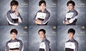 12 hoàng tử giảng đường đang gây bão màn ảnh nhỏ Thái Lan, họ là ai?